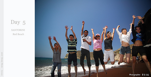 【國外旅遊】2007希臘蜜月之旅–Day 5 Red Beach
