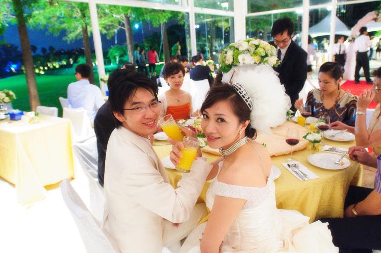 【桃園婚攝婚禮記錄】《綠風草原餐廳》 惠君&榮富晚宴