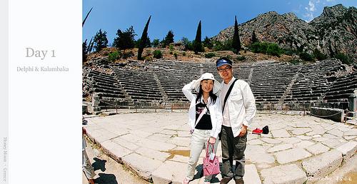 【國外旅遊】2007蜜月希臘之旅–Day 1 Delphi