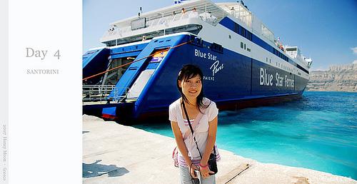 【國外旅遊】2007希臘蜜月之旅–步上聖島(SANTORINI)