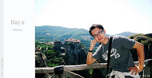【國外旅遊】2007蜜月希臘之旅–Day 2 天空之城Meteora–Meteoron修道院 -2