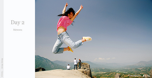 【國外旅遊】2007蜜月希臘之旅–Day 2 天空之城Meteora–Meteoron修道院-3