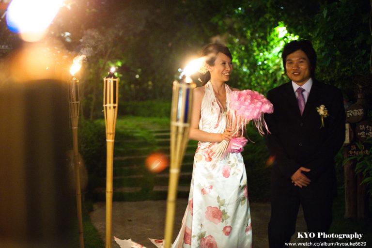 【花蓮婚攝婚禮記錄】《莫內花園戶外晚宴》逸然 + 瑛儀┃艾瑞斯造型新秘團隊