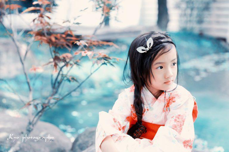 【兒童寫真】KIWI浴衣 ┃ 羅東–水岸楓林民宿